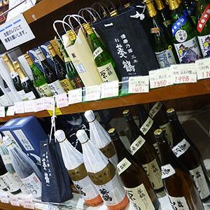 JA日本酒コーナー
